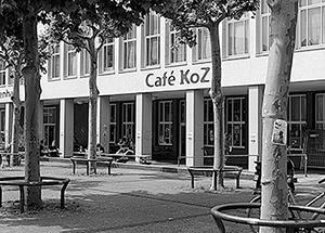 Café Koz . Angela Kunz, Tim Restle, Johannes Matzdorf