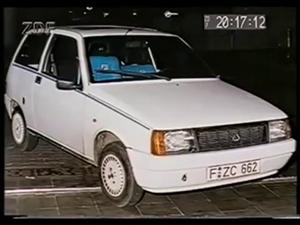 Polizeifoto Lancia Ermordung Herrhausen