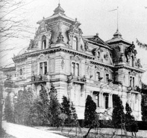Das ehemalige Palais Rosenhöhe